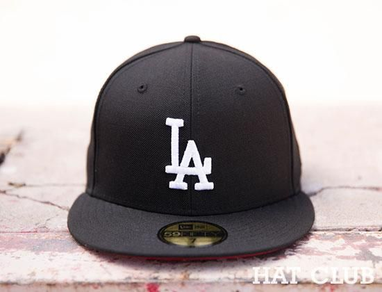Los Angeles Dodgers Red Bottom New Era 59fifty Cap Hat Club New Era 59fifty Red Bottoms Hats
