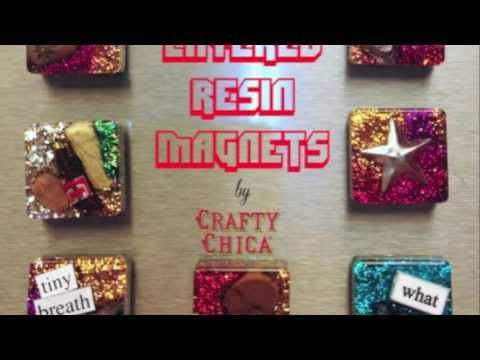 ▶ Easy Resin Magnets || DIY Gift Project - YouTube