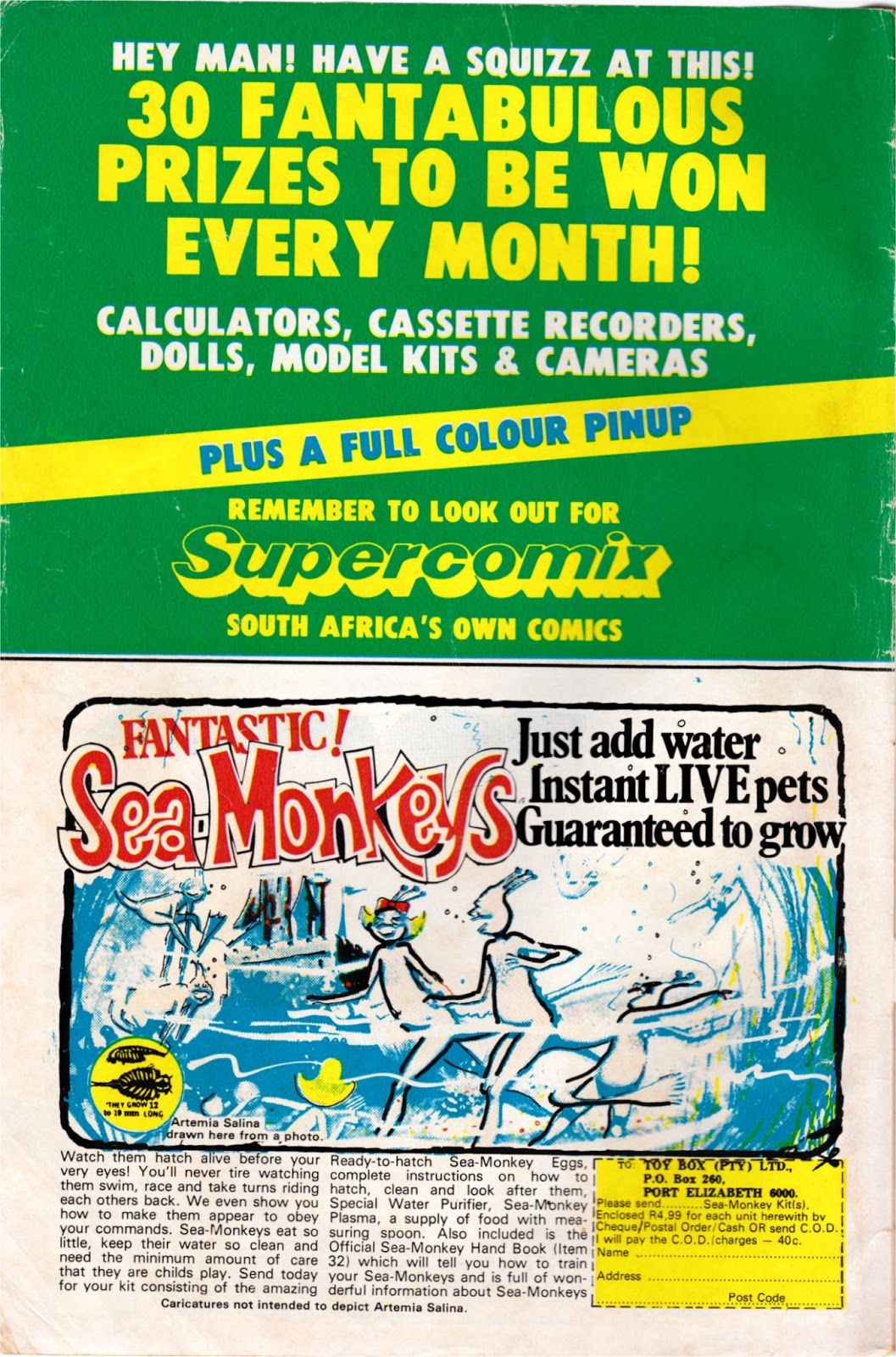Sea Monkeys Ad Google Search Sea Monkeys Monkeys Funny Hey Man