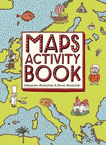 Maps activity book book challenge activities and map activities gumiabroncs Images