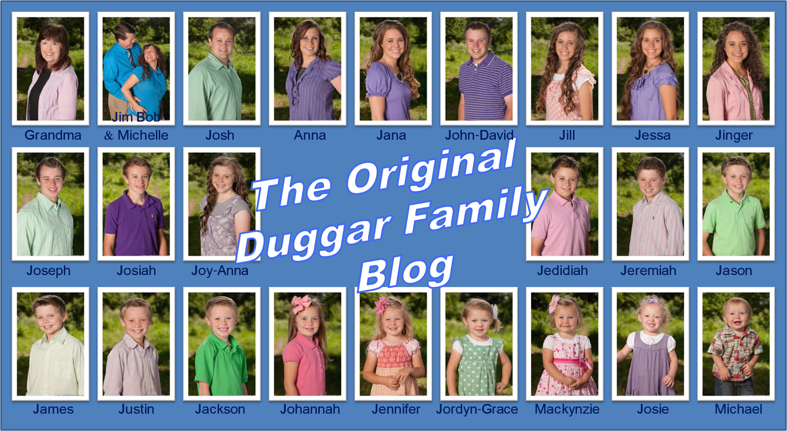 Great Wall of Duggars Video