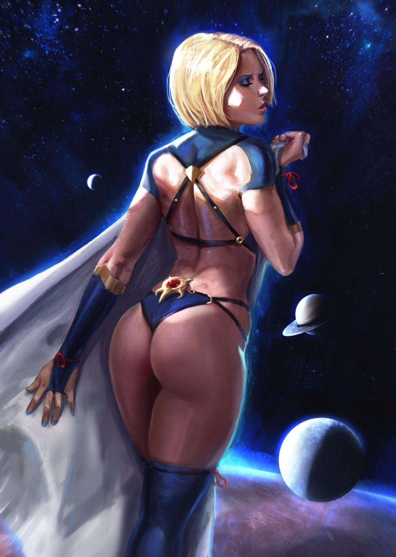 Naked scifi cartoon girls 12