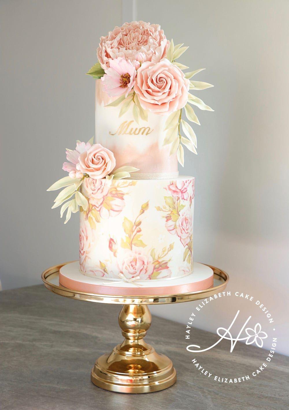 Celebration Cakes by in 2020 Elegant birthday cakes