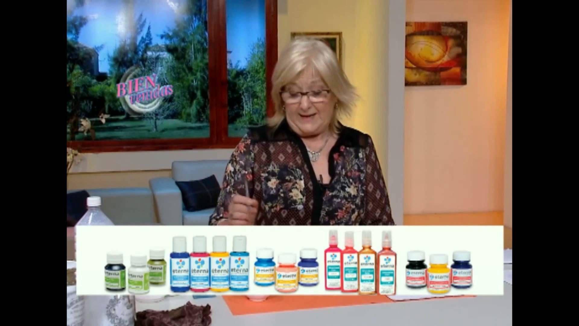 Transferencia sobre frascos | Mónica Godfroit en Bienvenidas Tv