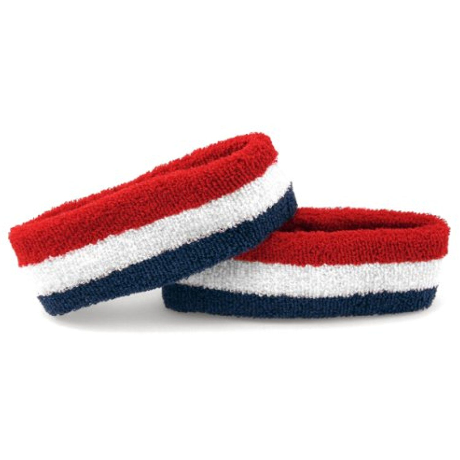 The Patriot Terry Cloth Sweatband Headband True Merica Red