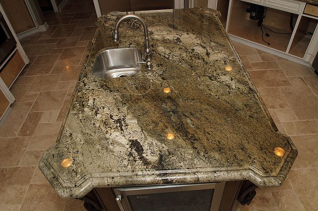 I think this is going to be my granite kitchen counter color