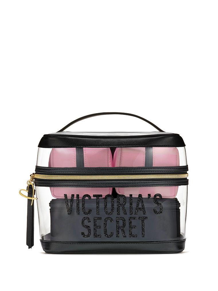 be5d42c8e5 Victoria's Secret Signature Stripe 4-in-1 Beauty Bag Set | Products ...