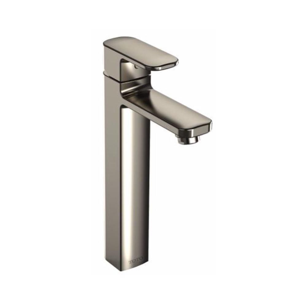Toto Upton Single Hole Singlehandle Bathroom Faucet In Brushed Amusing Brushed Nickel Bathroom Faucets Inspiration Design