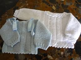 Resultado De Imagen De Como Hacer Jerseys De Bebe Hechos A Mano Empezados Por La Espalda Chaqueta Bebe Jersey Bebe Dos Agujas Tejido Crochet Bebe