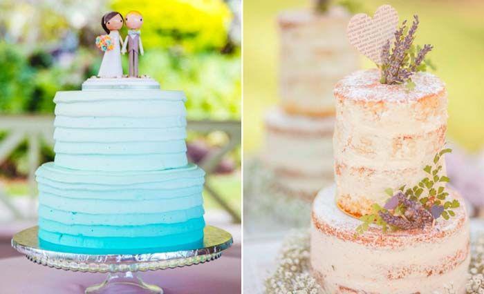 Confesso que meu bolo de casamento foi todinho branco, bem classicão, mas vamos combinar que uns detalhes aqui e uma corzinha ali rendem verdadeiras obras primas da confeitaria, não acham? Hoje separei uma galeria de…