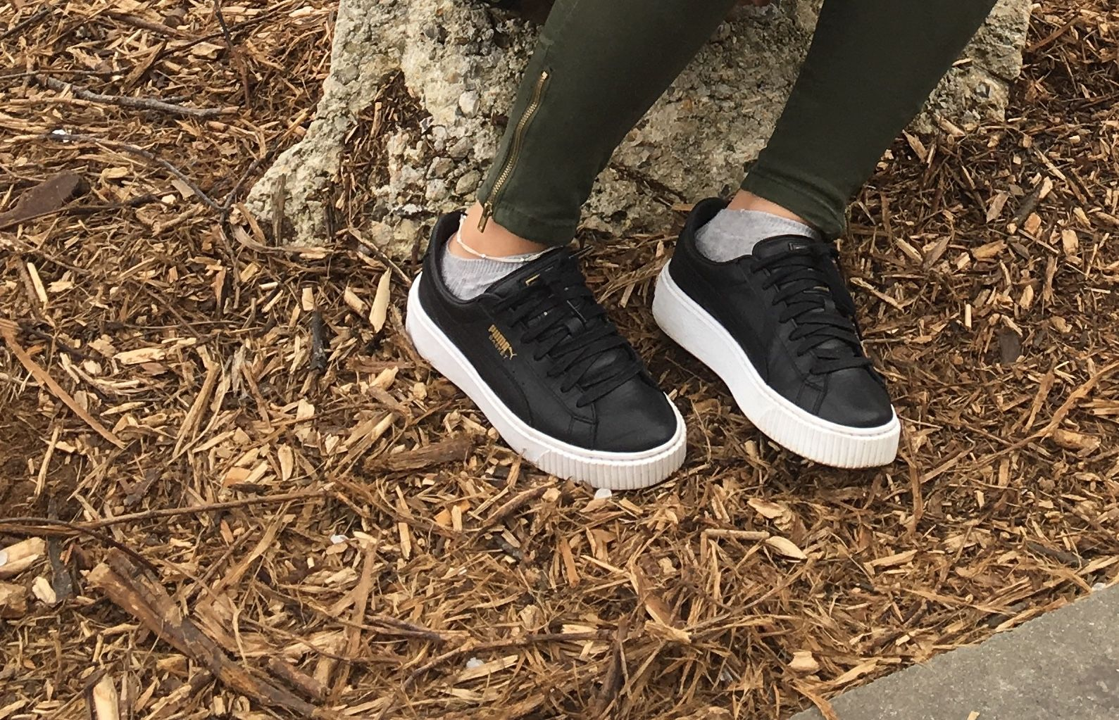 premium selection 9a6ec bc3a4 Platform Puma Some Basket Leather Wear Comfy To Sneakers nAHPB