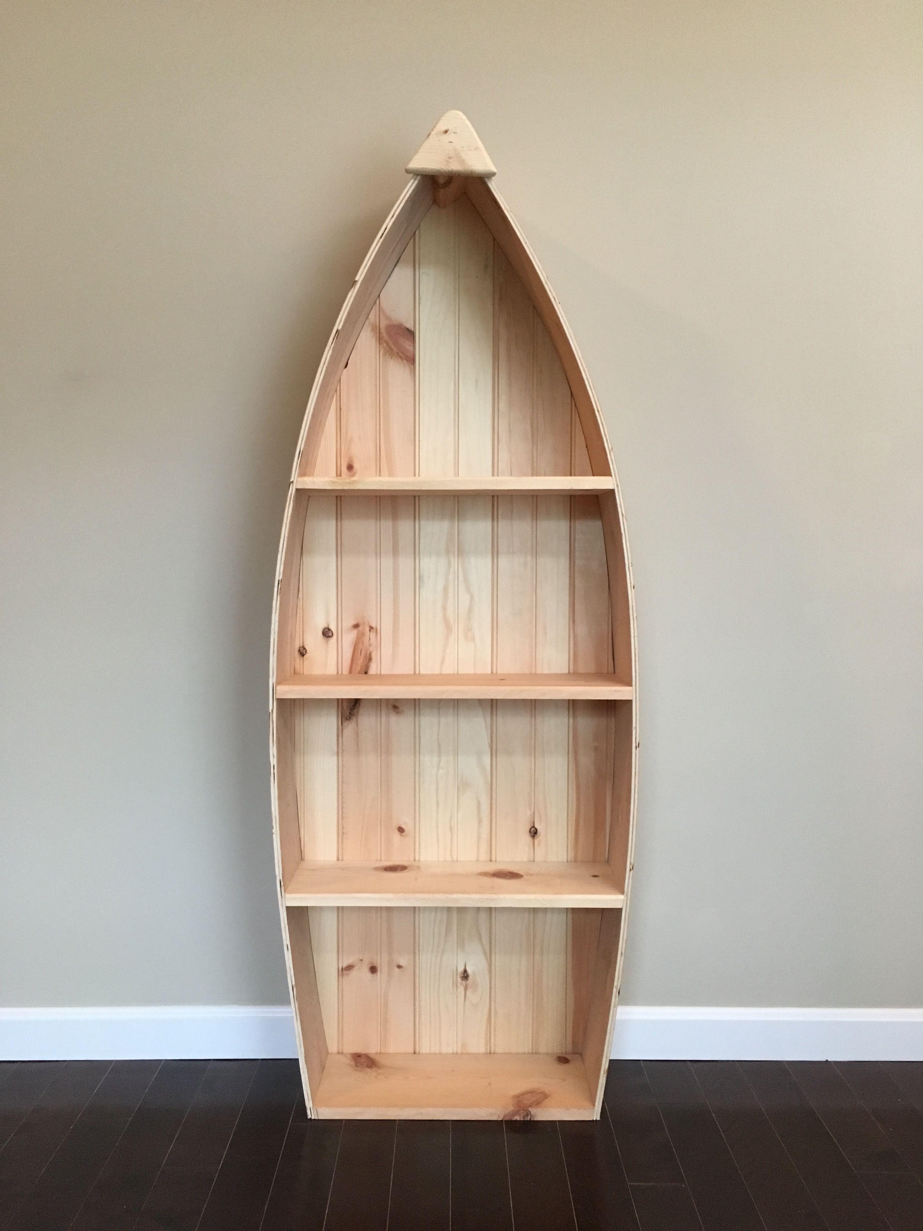Boat Bookshelf Boat Shelf Decor Boat Furniture Log Cabin Decor