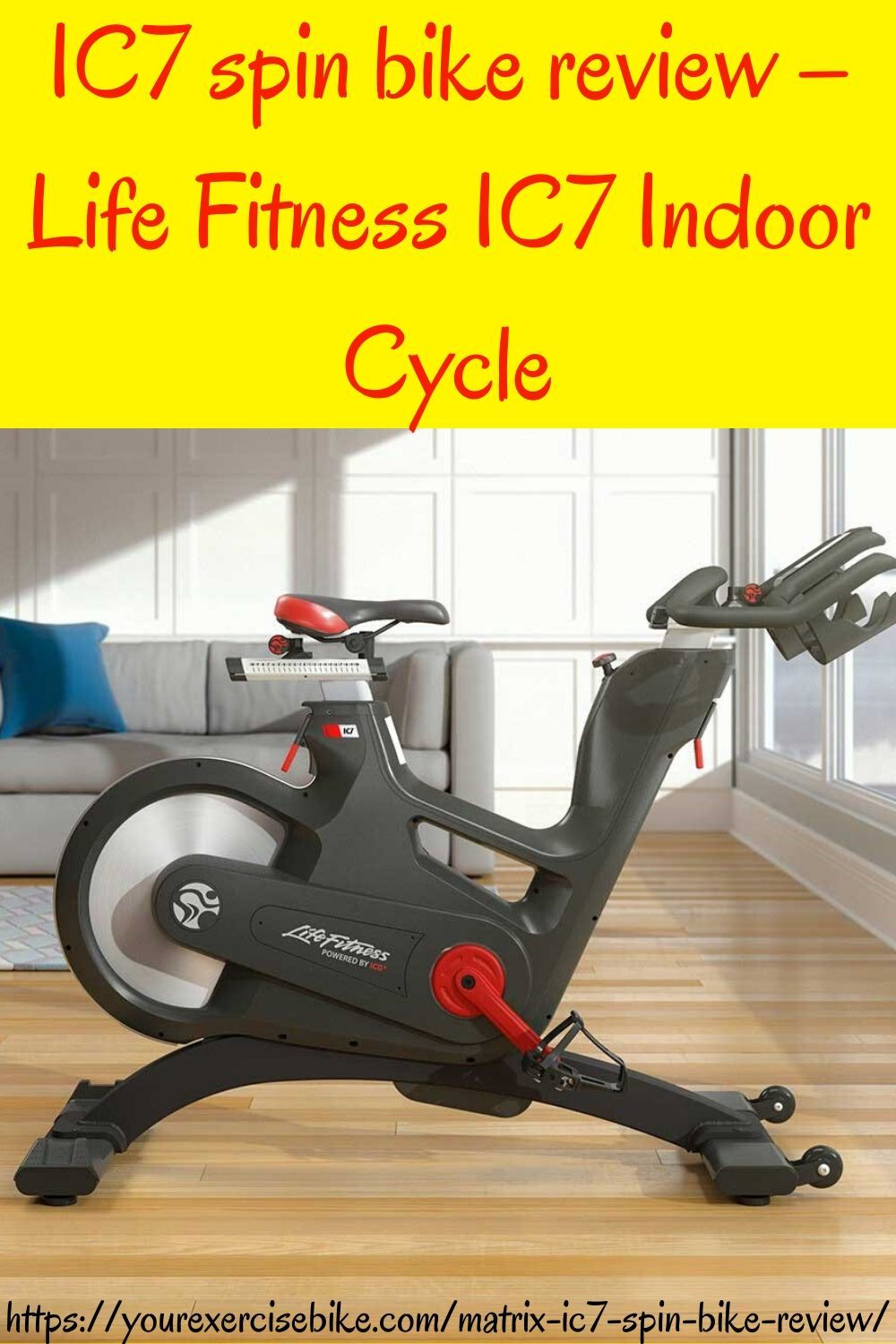 Ic7 Spin Bike Review Life Fitness Ic7 Indoor Cycle Spin Bikes Spin Bike Reviews Bike Reviews