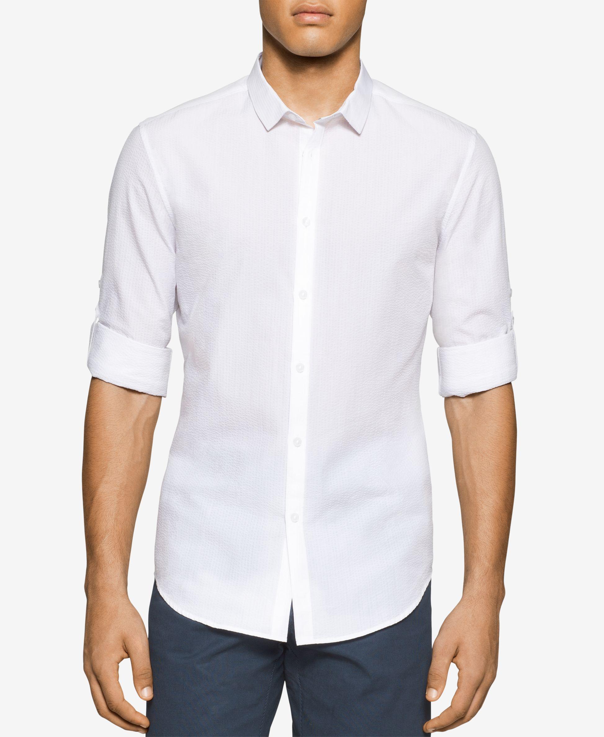 Calvin Klein Slim Fit Dress Shirt Macys Bcd Tofu House