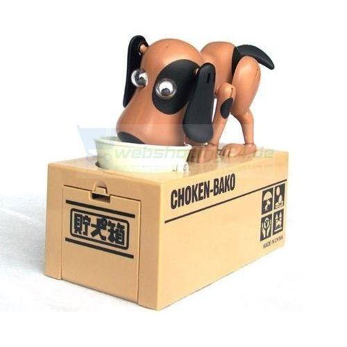 CHOKEN BAKO Spardose Hund Sparbox hungriger Hund The Doggy Bank