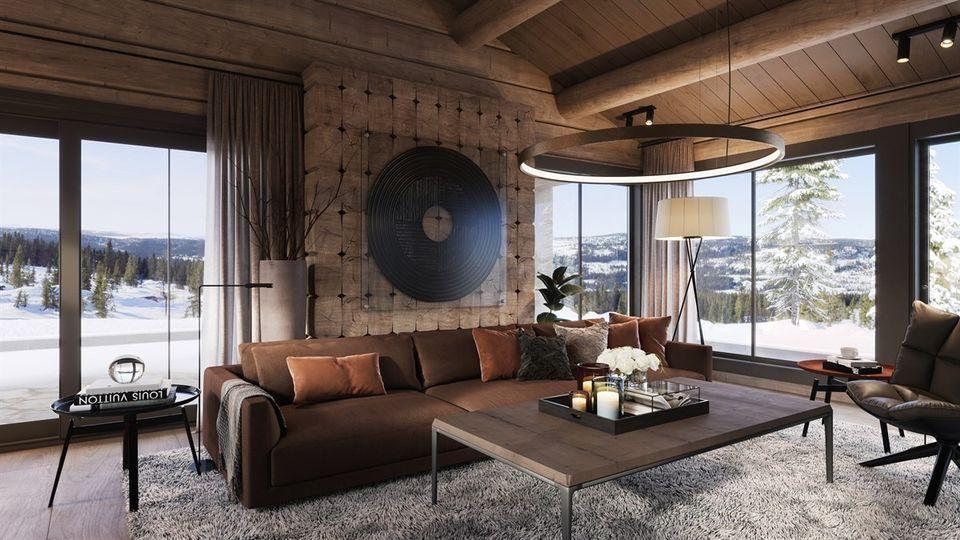 Photo of Kvitfjell – Unik, arkitekttegnet tømmerhytte på en av Vardens råeste emp …