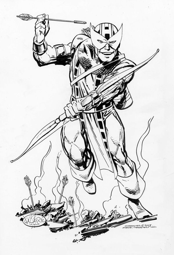 Hawkeye by John Byrne | For The Boys | Pinterest | Arte