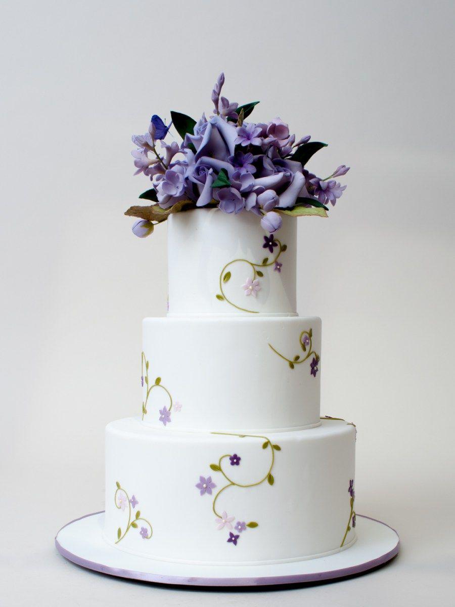 Ultra Violet Cake | Cake | Pinterest | Violet cakes, Ultra violet ...