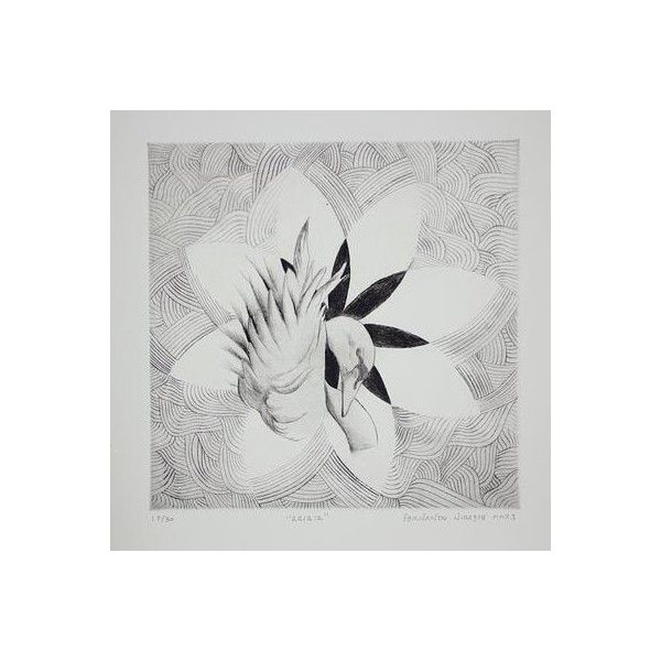 NOVICA Black and White Ink Painting ($270) ❤ liked on Polyvore featuring home, home decor, wall art, paintings, surrealist paintings, novica paintings, black and white home decor, white flower wall art, white flower painting and white home decor