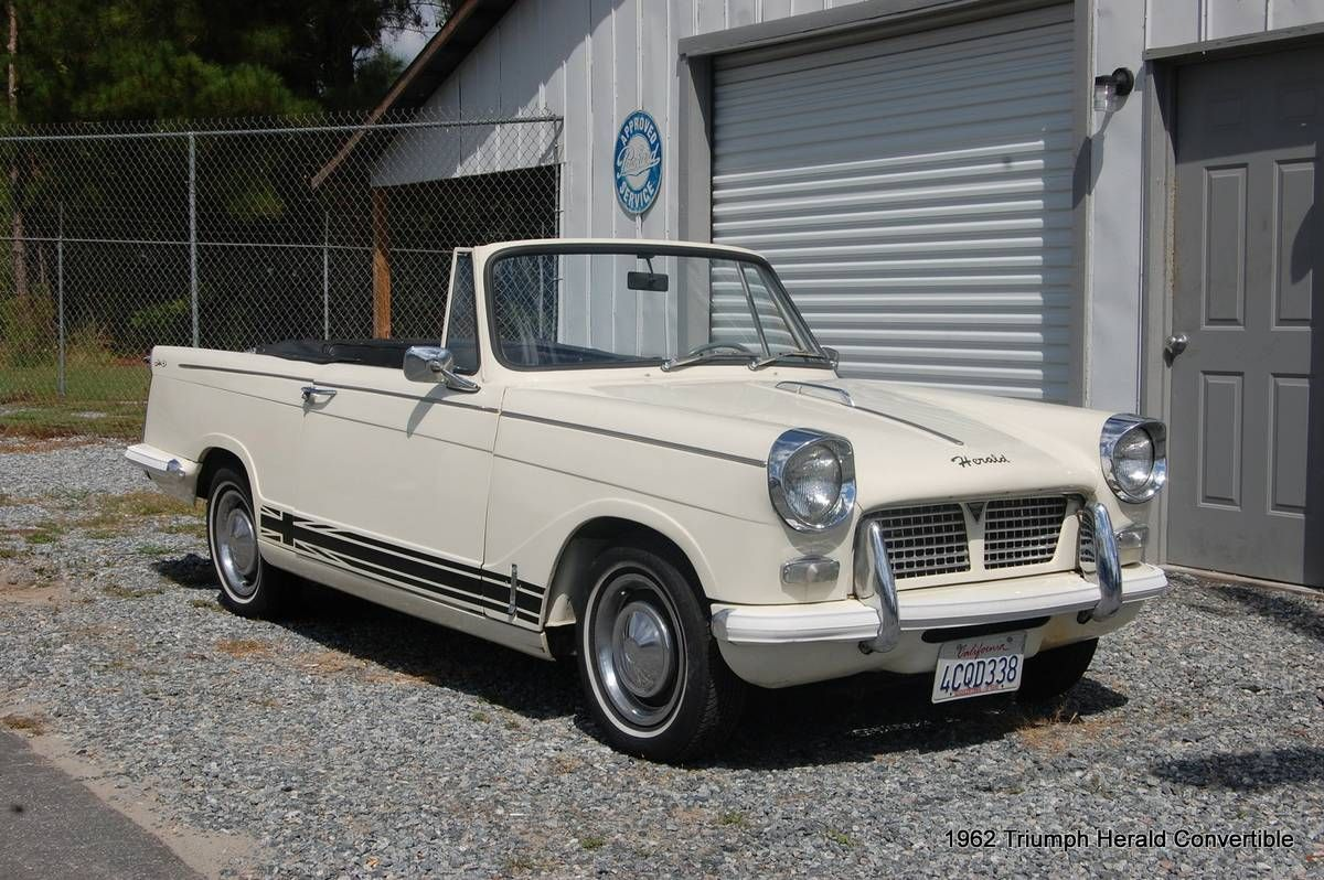 1962 Triumph Herald Mark I Convertible 9,500 South