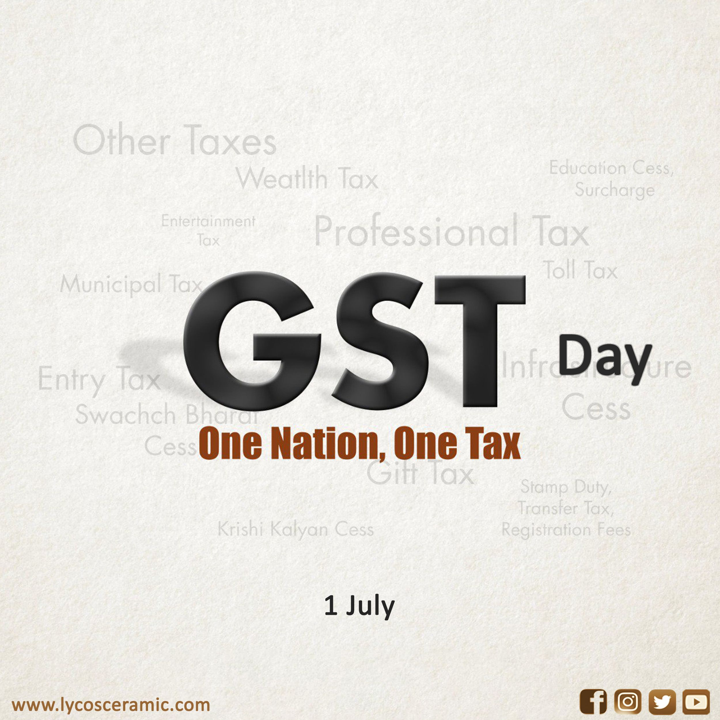 Gst Day In 2020 Tile Companies Day Tile Design
