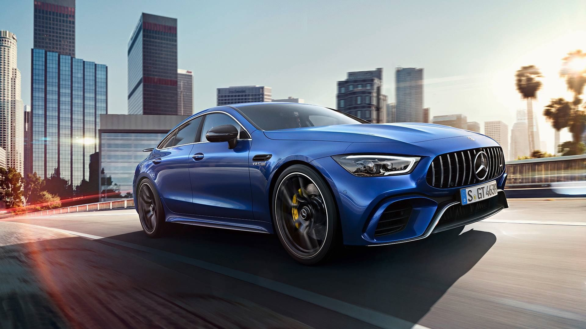 Mercedes Amg Gt 63 S 4matic 4 Door Coupe Mercedes Amg Amg Mercedes