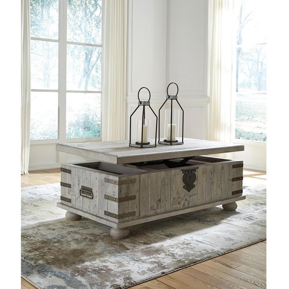 Signature Design By Ashley Carynhurst Lift Top Coffee Table In White Wash Gray Nebraska In 2020 White Cocktail Tables Lift Top Coffee Table Coffee Table With Storage [ 1000 x 1000 Pixel ]