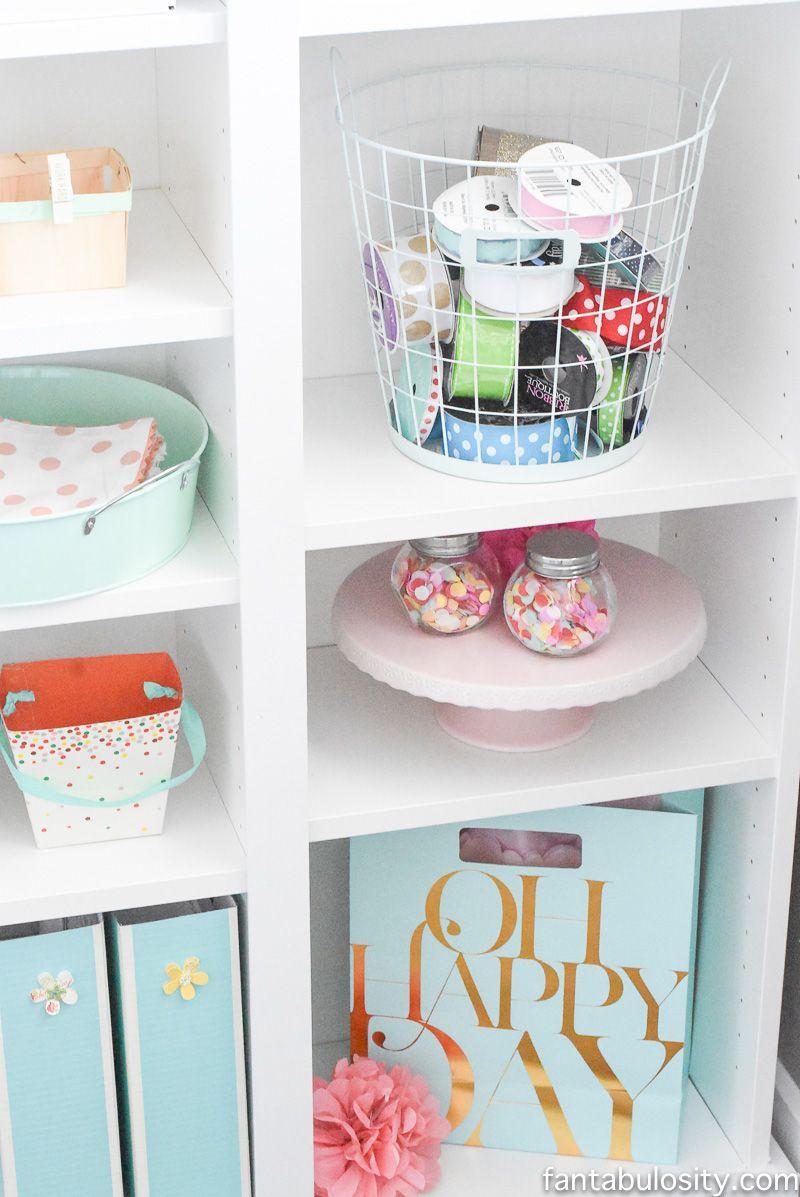 Part 16 Home Tour: Office Makeover Reveal   Bookshelves ikea, Hobby ...