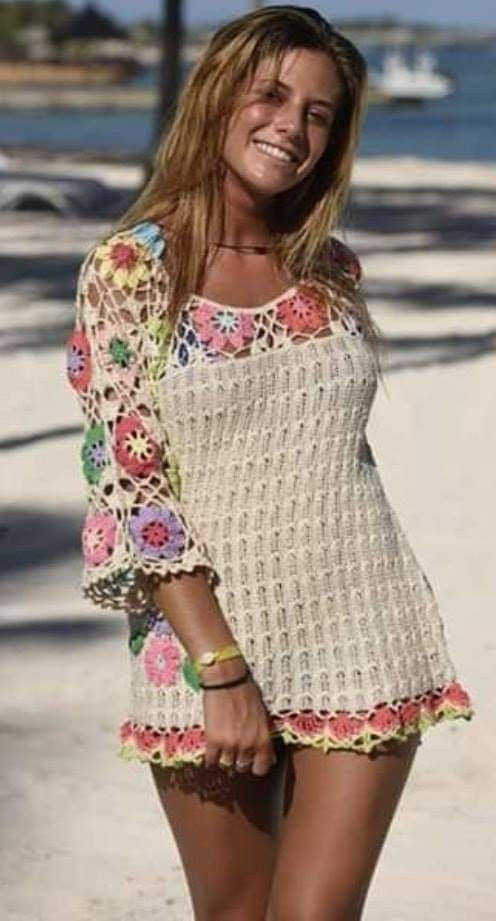 #crochetbeachdress