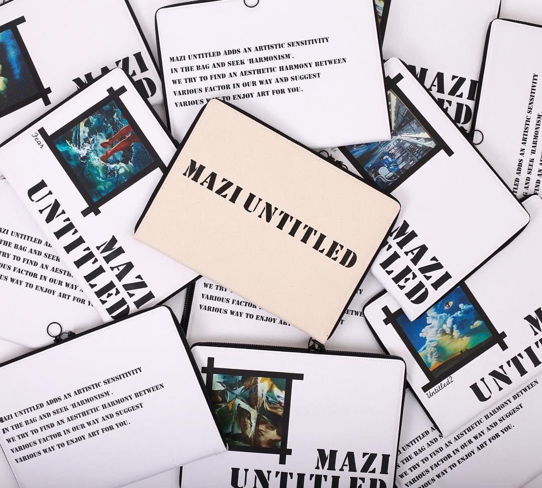 바로 오늘부터 MaziUntitled tote bag cross bag을 구입하시면 document case를 함께드리는 감사 이벤트가 시작됩니다.  위즈위드 페이지와 MaziUntitled 공식홈페이지에서 확인 가능하시며 많은 관심 부탁 드립니다  . #maziuntitled#마지언타이틀#canvasbag#totebag#crossbag#위즈위드#이벤트#선물 by maziuntitled