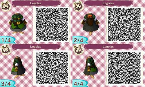 Lord Of The Rings Qr Codes Animal Crossing Animal Crossing Qr