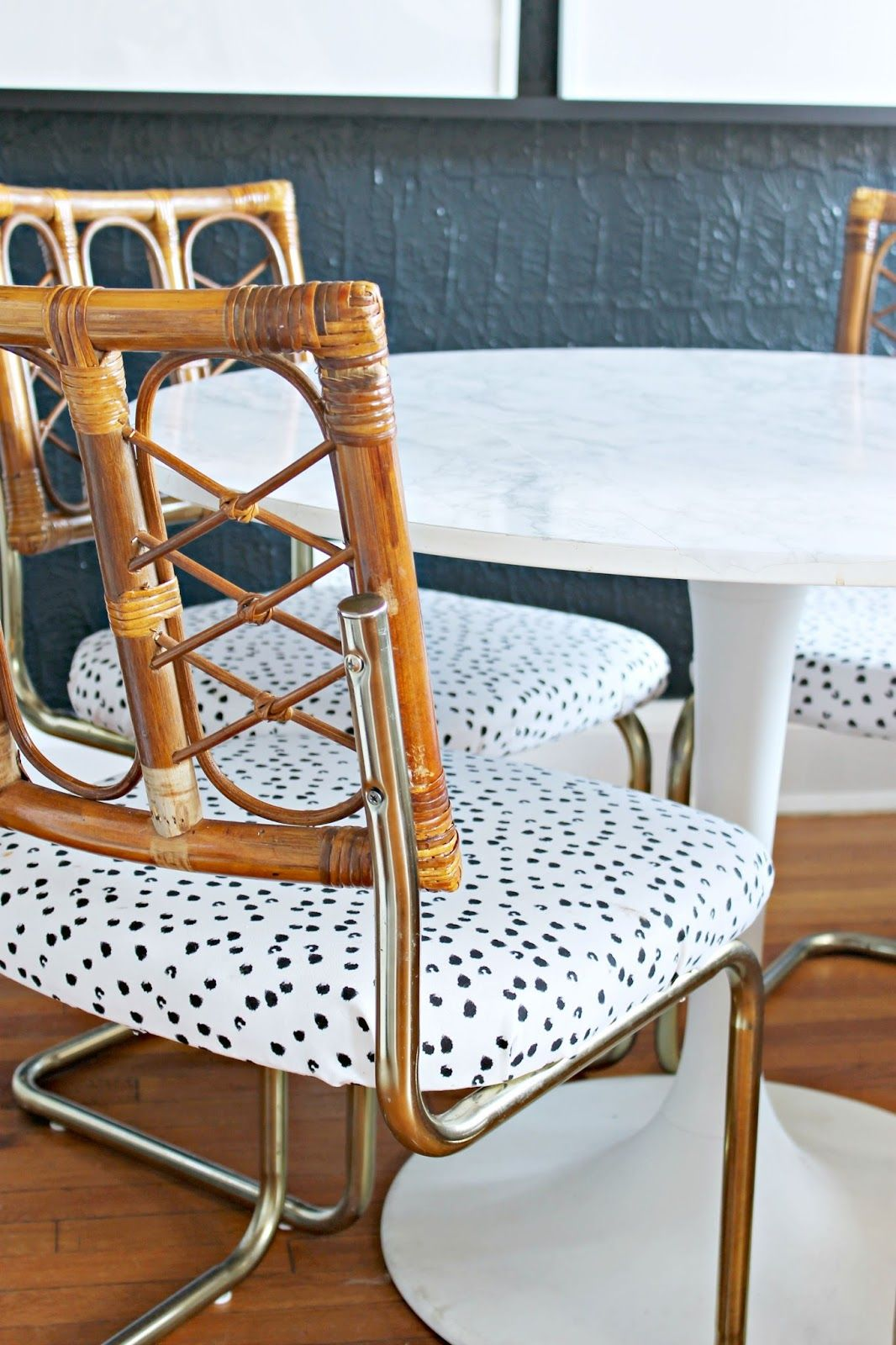 DIY Upholstered Craigslist Chairs | Chair, Cantilever ...