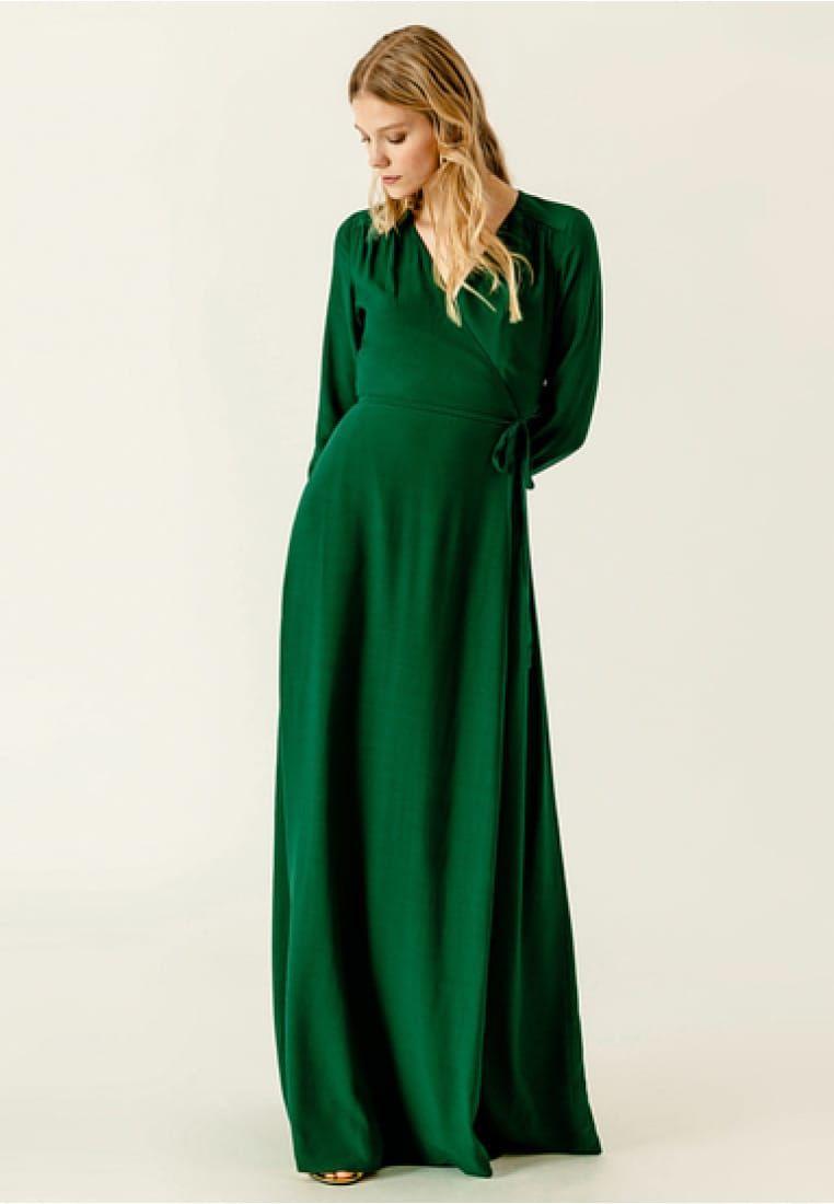 Maxikleid - eden green @ Zalando.de 🛒  Dunkelgrüne kleider