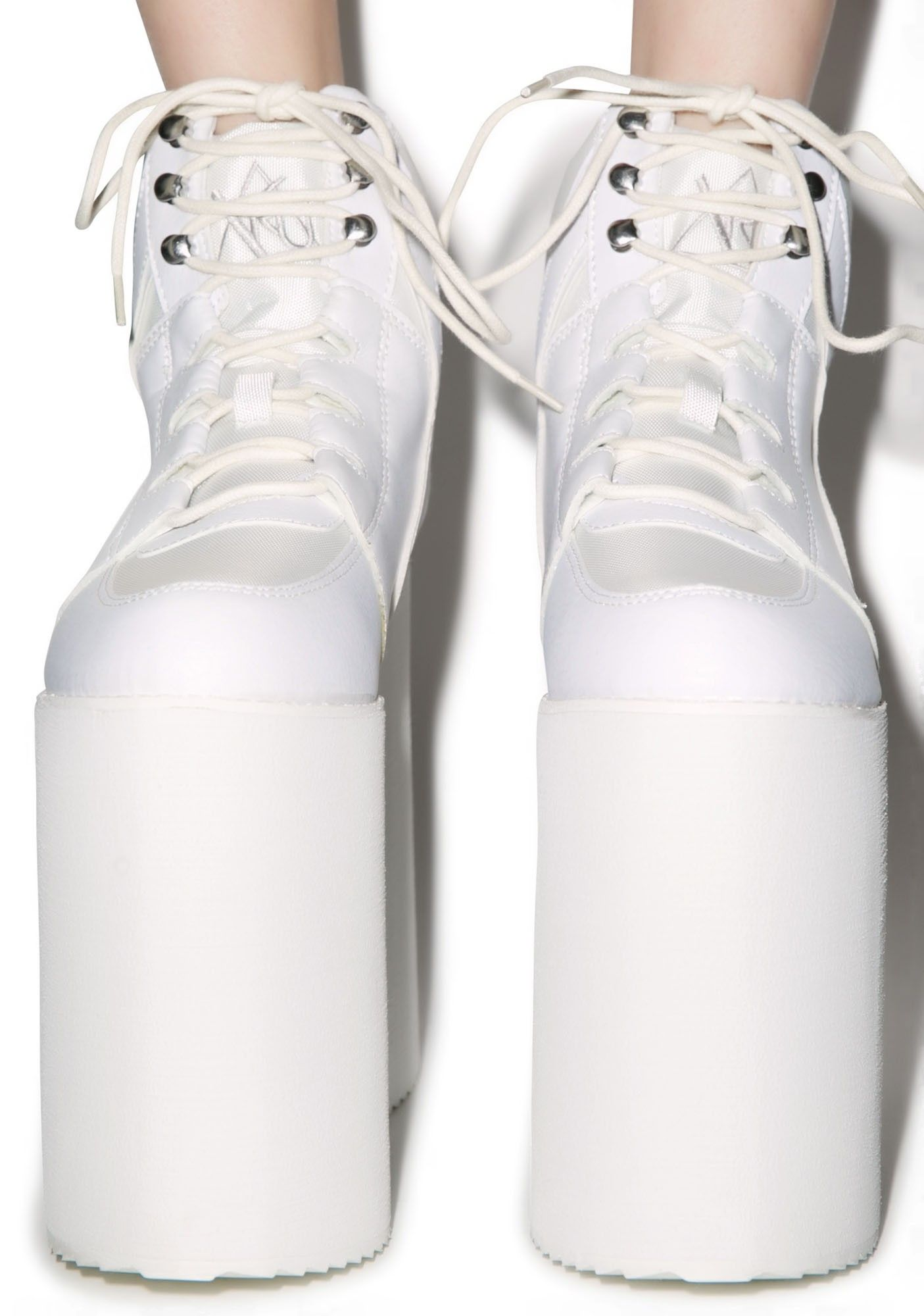 Qozmo Sky Platforms | White sneaker