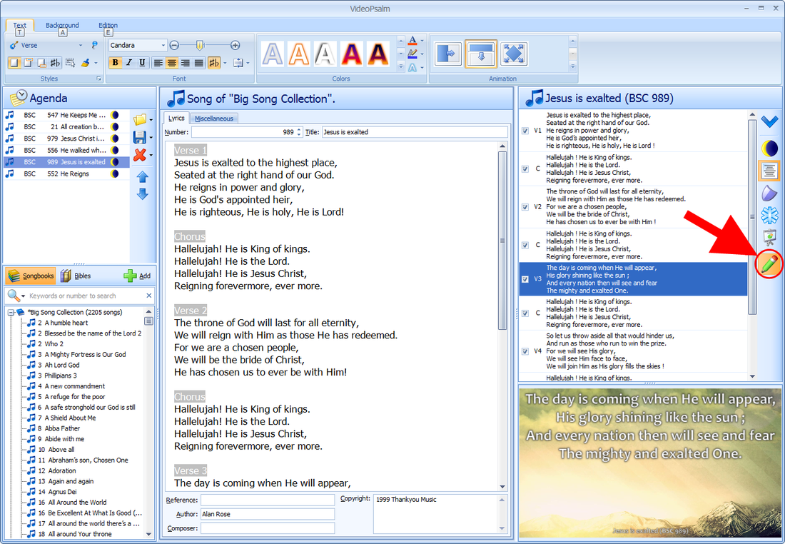 easyworship converting database to latest version