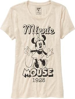 b0fcffbcdb7c Women s Disney© Vintage Minnie Mouse Tees