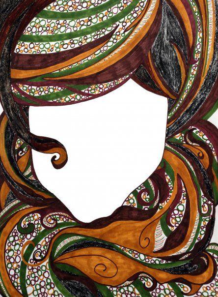 The first (blank face series) - Evonna F. Gaba