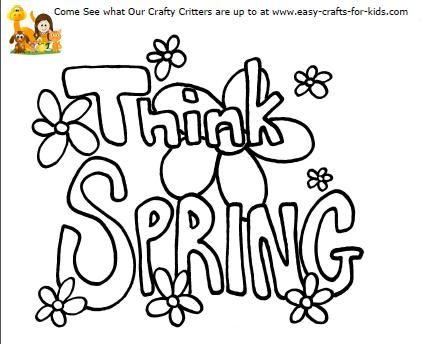 Spring Activities for Kids Printables and Games with