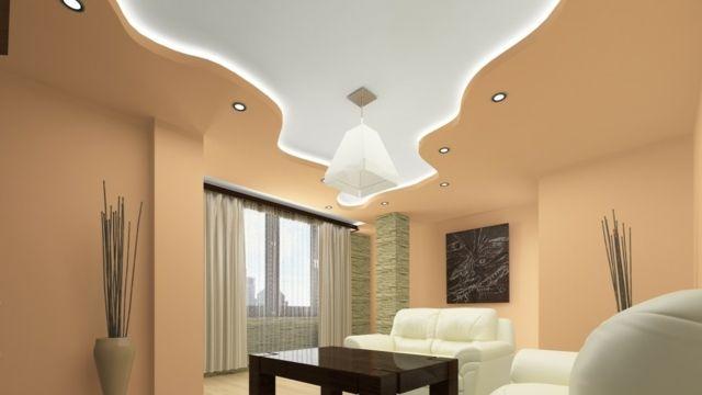 Faux plafond pratique et esth tique pastel design et for Plafond salon design