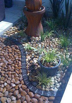 Rock Landscaping | Home | Pinterest | Gärten, Garten Ideen Und Hofgestaltung
