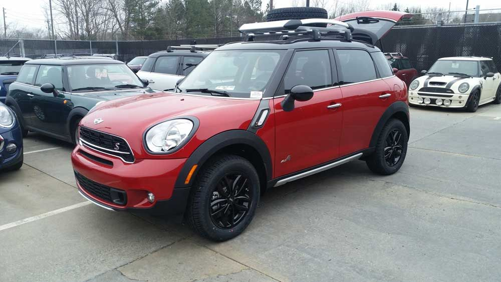 Lifted Red MINI Cooper Countryman 2