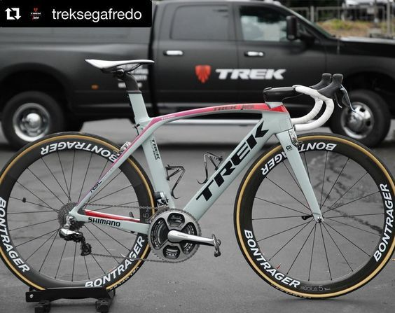 #Repost @treksegafredo @niccolobonifazio #ProjectOne @trekbikes Madone. Specially made for @amgentoc.