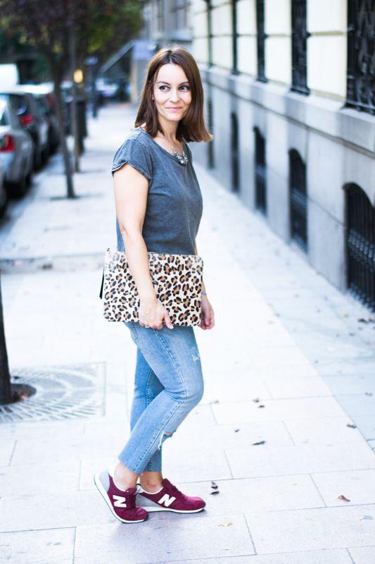 New Balance Granates | La Chimenea de las Hadas | Blog de Moda y lifestyle | Buscando el lado bonito de las cosas