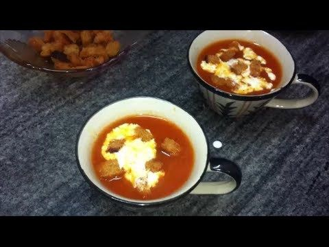 Indian vegetarian soup tomato soup recipe in hindi with english indian vegetarian soup tomato soup recipe in hindi with english subtitles http forumfinder Image collections