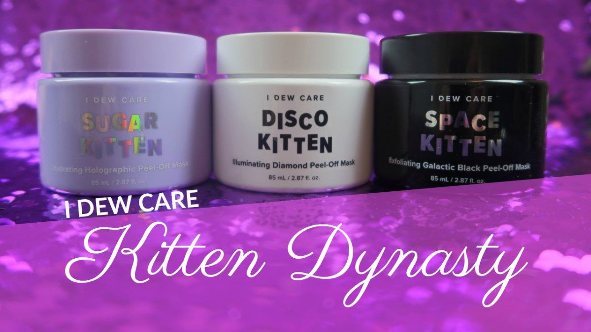 Memebox I Dew Care Kitten Dynasty Review Memebox Care Home Spa Treatments
