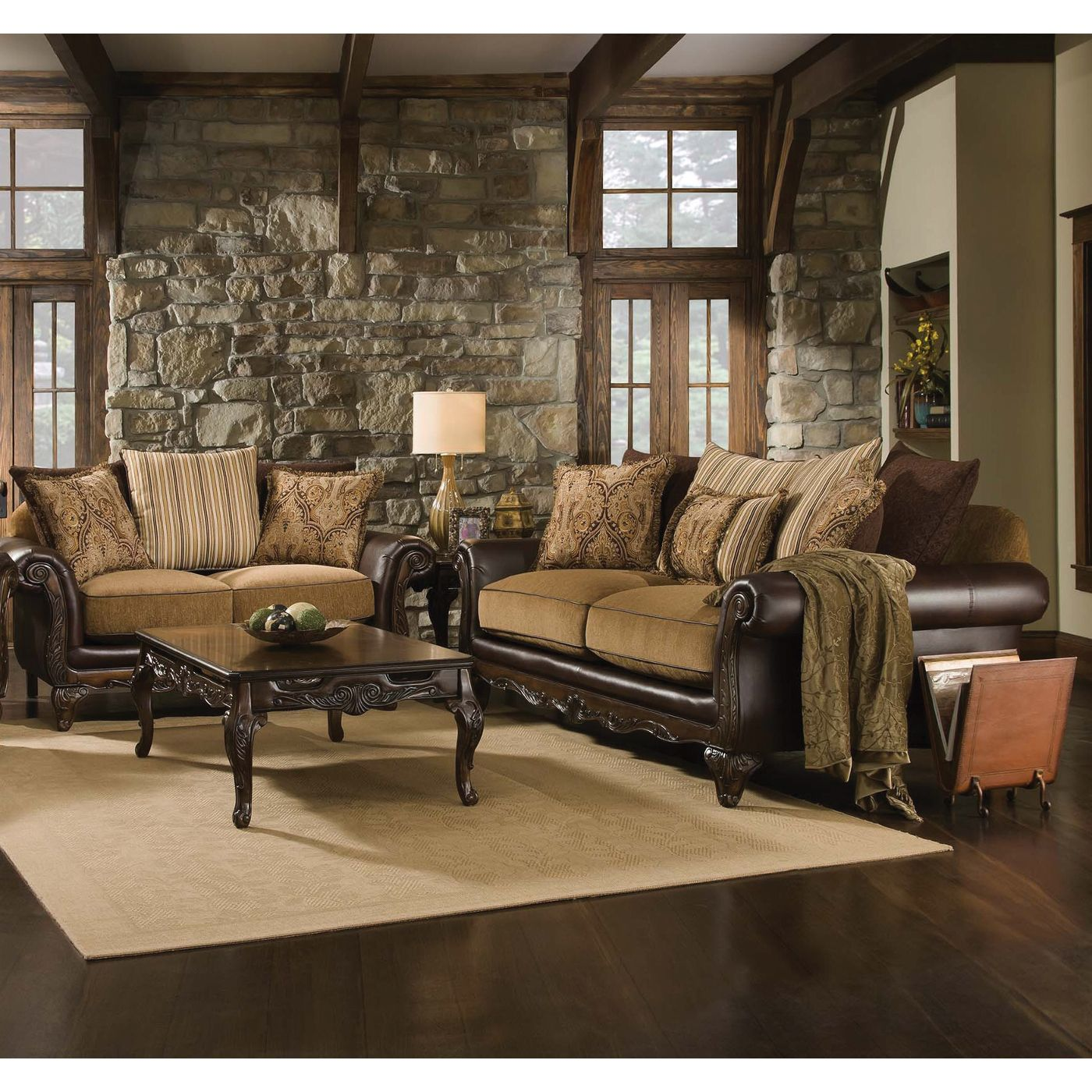 Living Room Sofa Loveseat 78a
