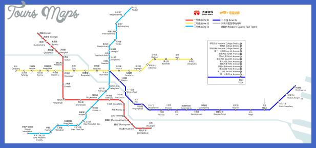 Tianjin Subway Map.Nice Tianjin Metro Map Tours Maps Map Subway Map Tianjin