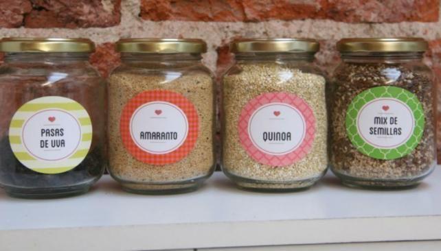 Especieros o envases para cualquier tipo de producto for Decoracion de frascos de vidrio para cocina