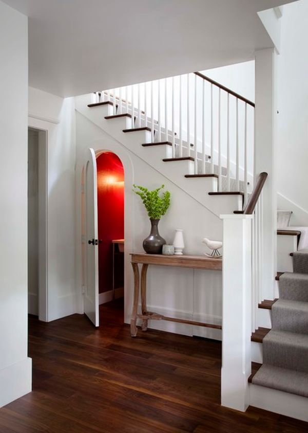 Amazing Five Ideas For Using The Space Under A Stairwell