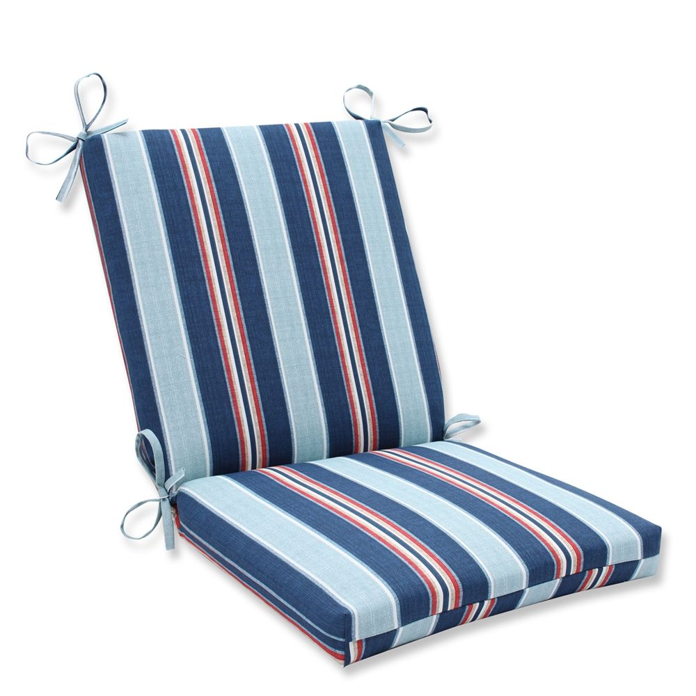 Pillow Perfect 594644 Kingston Stripe Arbor Squared